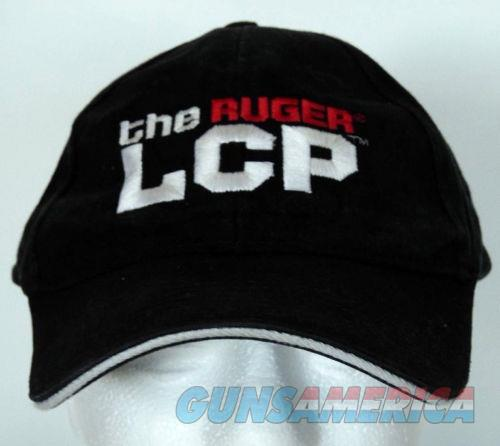 Ruger LCP Black Adjustable Baseball Cap Hat - NEW!   Non-Guns > Logo & Clothing Merchandise