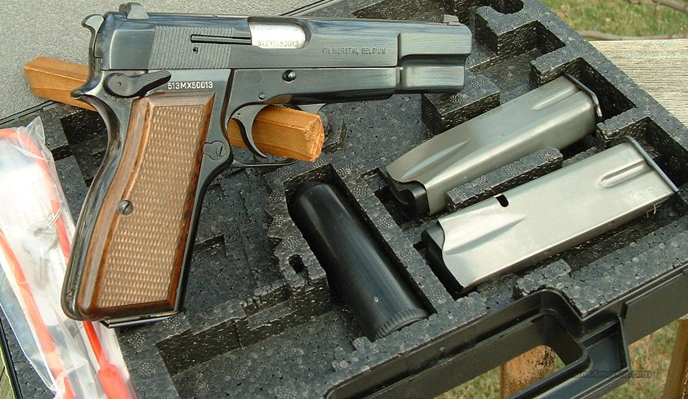 Belgium FN Hi-Power SFS Safety Fast Shooting 40 S&W  Guns > Pistols > FNH - Fabrique Nationale (FN) Pistols > High Power Type