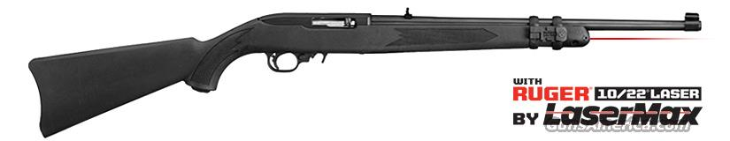 Ruger 10/22 w/ LaserMax  22 LR  New!     LAYAWAY OPTION   11129  Guns > Rifles > Ruger Rifles > 10-22