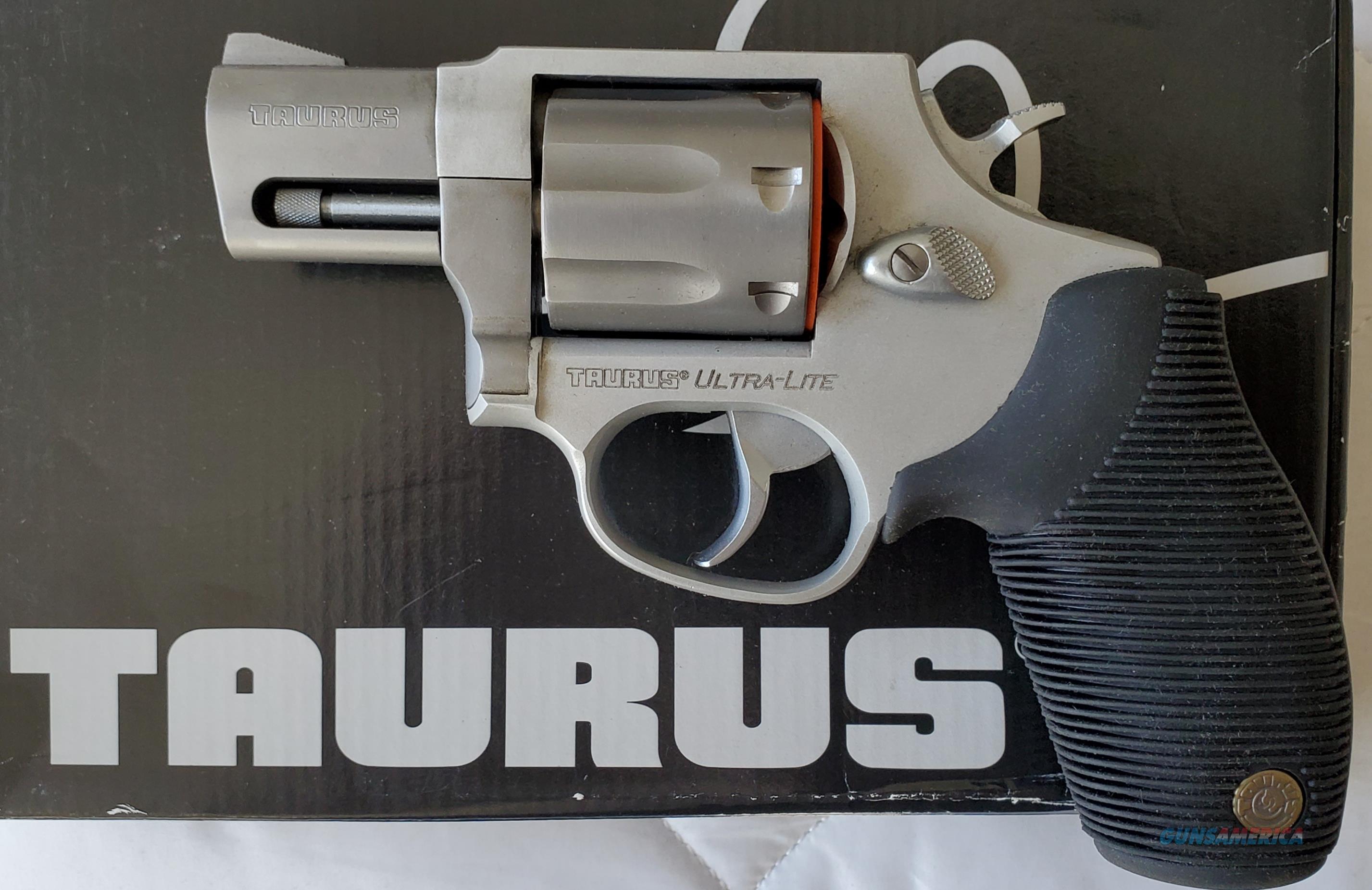 """Taurus 817 Compact Ultra Lite SS revolver 2"""" bbl. 38 Spl. +P  New!  LAYAWAY OPTION  2817029UL  Guns > Pistols > Taurus Pistols > Revolvers"""