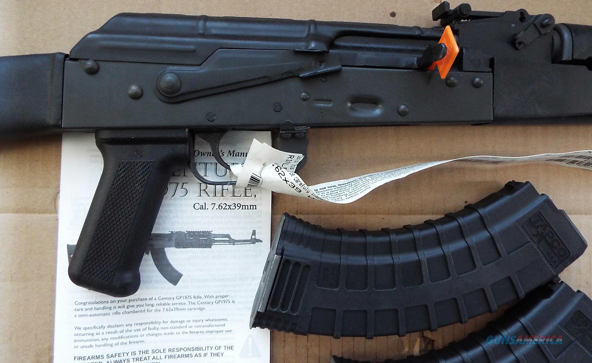 Century Arms GP1975 AK47 carbine 7.62x39mm  New!  LAYAWAY OPTION  RI1496-X  AK47  Guns > Rifles > Century International Arms - Rifles > Rifles