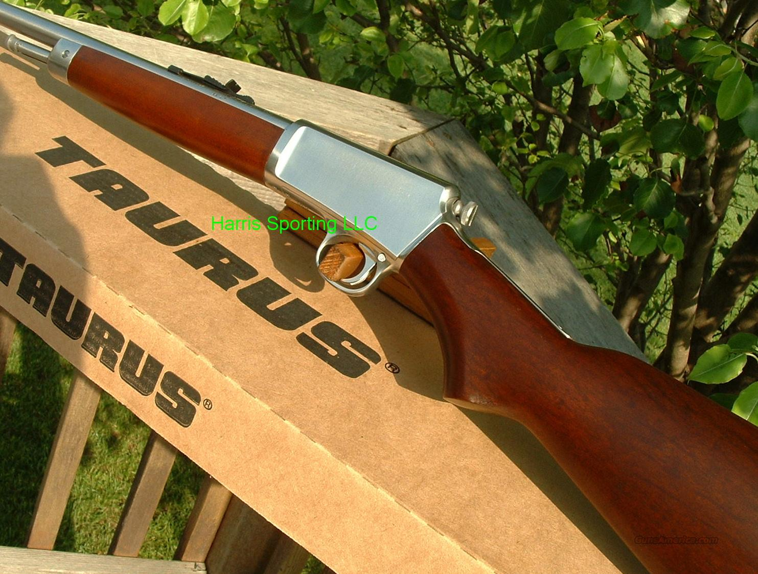 Taurus 63 Stainless TD 22 LR   NEW  Guns > Rifles > Taurus Rifles