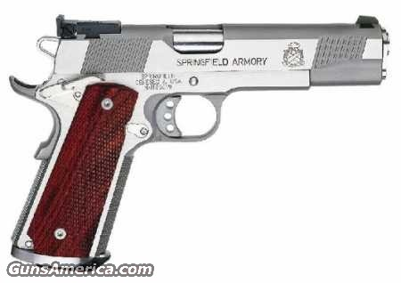 PI9140L Loaded Trophy Match SS  Guns > Pistols > Springfield Armory Pistols