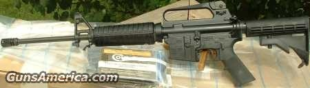 Colt AR-15 LE Gov't Carbine AR6520  Guns > Rifles > Colt Military/Tactical Rifles
