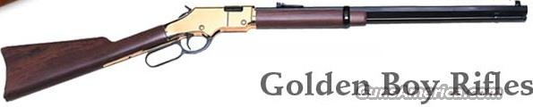 Henry Golden Boy 17 HMR  New!  Guns > Rifles > Henry Rifles - Replica