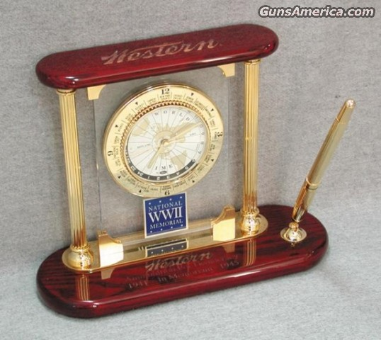 Winchester WWII Desk Clock  Non-Guns > Logo & Clothing Merchandise