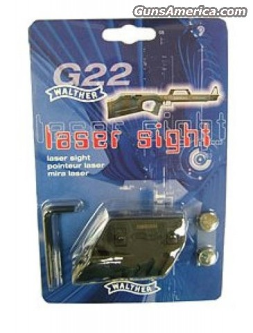 Walther G22 Laser Sight - New!  Non-Guns > Scopes/Mounts/Rings & Optics
