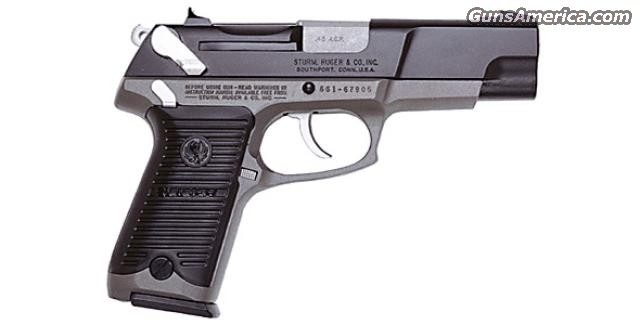 Ltd Edition Ruger P90T Two-Tone 45 New!  Guns > Pistols > Ruger Semi-Auto Pistols