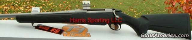 T3 Stainless 22-250 LEFT HAND  Guns > Rifles > TU Misc Rifles