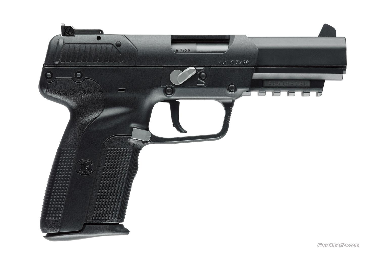 FN Five-seveN USG 5.7 X 28mm New!   Guns > Pistols > FNH - Fabrique Nationale (FN) Pistols > High Power Type