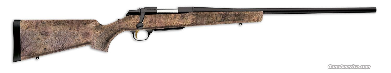 Browning A-Bolt SSA Mossy Oak Brush 222 Rem.  Guns > Rifles > Browning Rifles > Bolt Action > Hunting > Blue