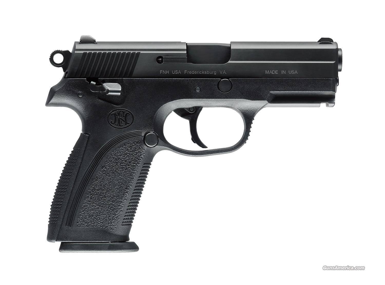 FN FNP-40 Matte Black Stainless Hi Cap w/ RAIL - New!   Guns > Pistols > FNH - Fabrique Nationale (FN) Pistols > FNP