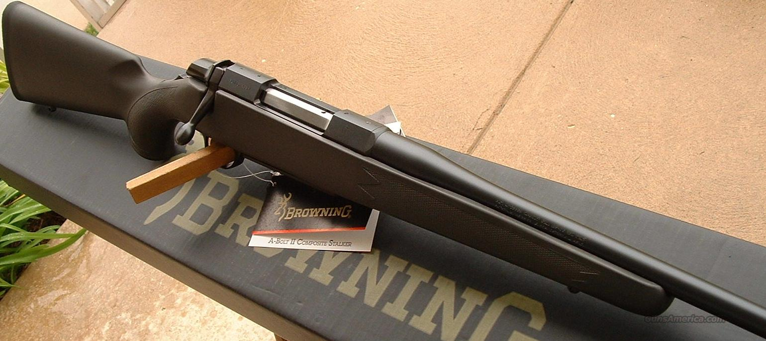 A-Bolt Composite Stalker 308 Win.  NEW   Guns > Rifles > Browning Rifles > Bolt Action > Hunting > Blue