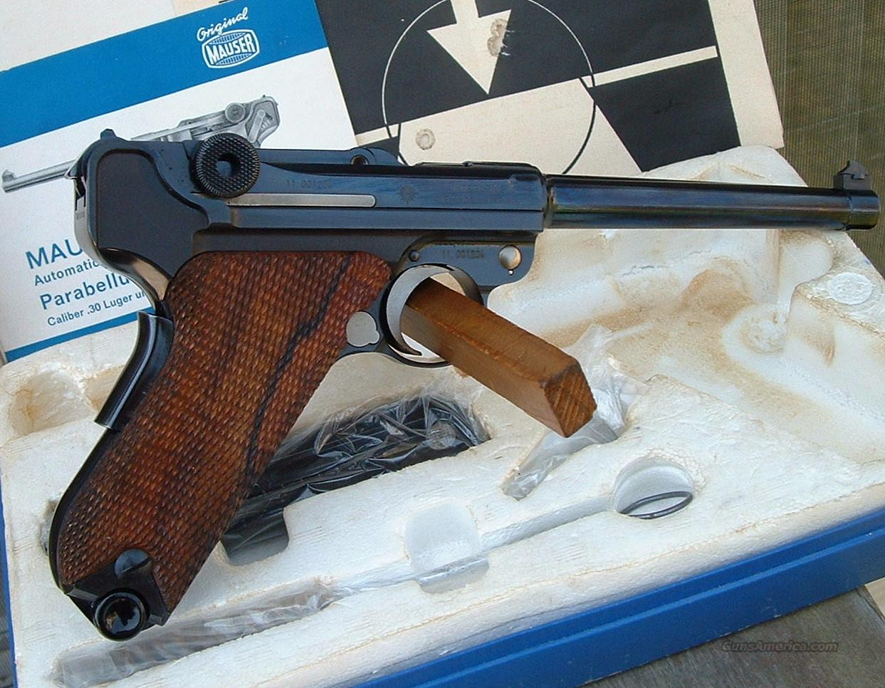Interarms Mauser Eagle Luger 9mm ANIB  Guns > Pistols > Luger Pistols