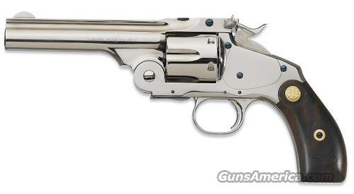 Laramie Top-Break Nickel 45 LC  Guns > Pistols > Beretta Revolvers