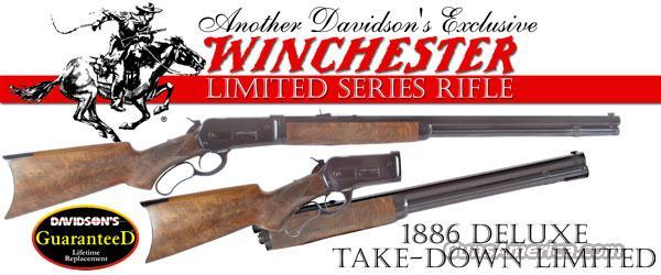 Winchester 1886 Ltd Series Deluxe Takedown 45-70 Govt  Guns > Rifles > Winchester Rifles - Modern Lever > Other Lever > Post-64