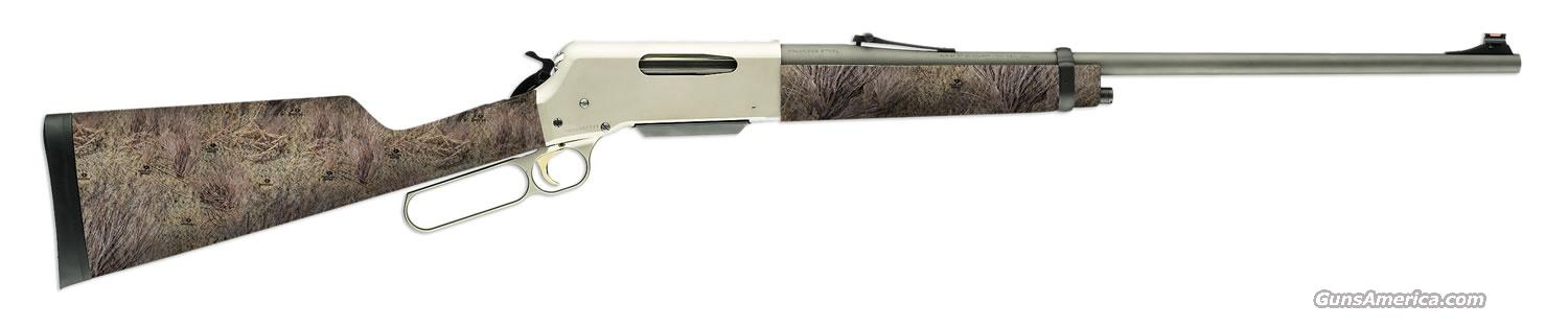 Ltd Edition Browning BLR 81 Stainless CAMO 22-250 Rem.  Guns > Rifles > Browning Rifles > Lever Action