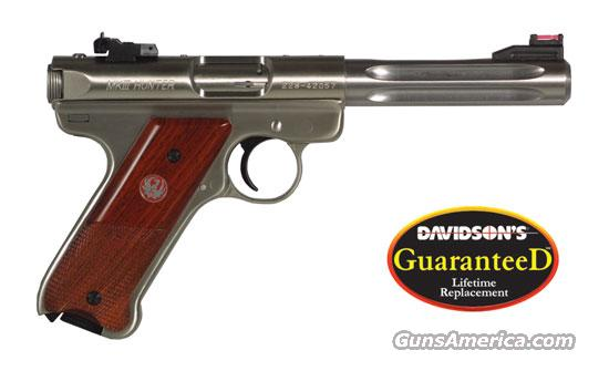 "Ruger MKIII Stainless HUNTER 5.5"" bbl.  Guns > Pistols > Ruger Semi-Auto Pistols > Mark II Family"