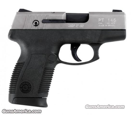 Taurus PT145 Millennium Pro Stainless 45 ACP New   Guns > Pistols > Taurus Pistols/Revolvers > Pistols > Polymer Frame