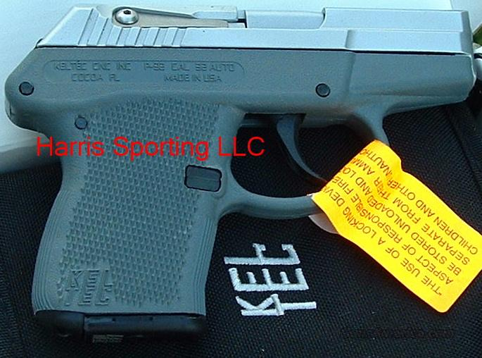 KelTec P-32 HARD CHROME Gray 32 cal.   Guns > Pistols > Kel-Tec Pistols > Pocket Pistol Type