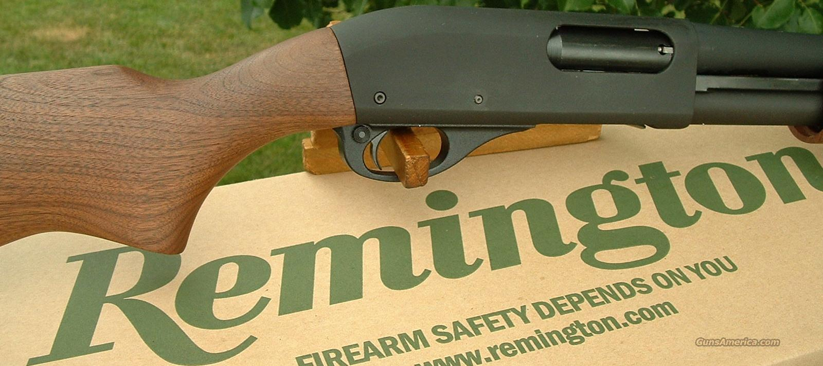 Rem. 870 Police Magnum 12 Parkerized New!   Guns > Shotguns > Remington Shotguns  > Pump > Tactical