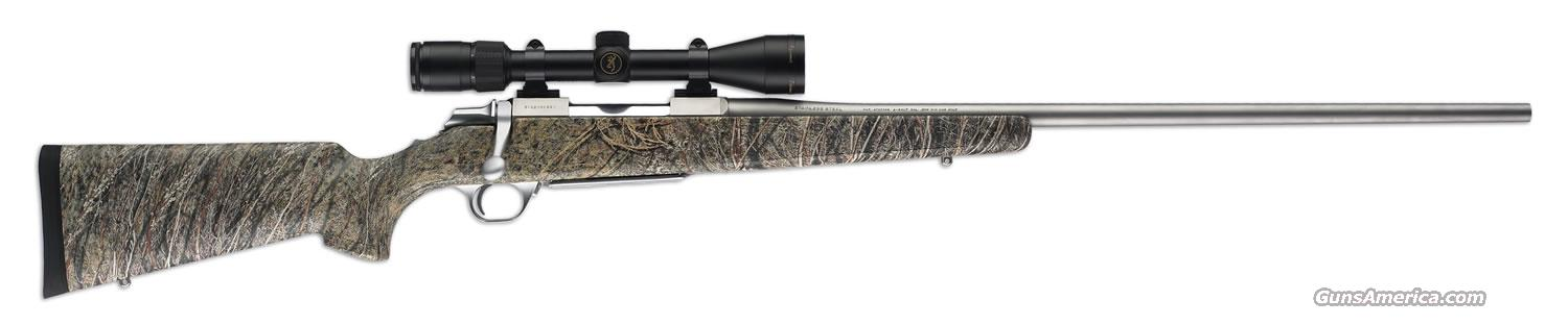 Ltd Edition Browning A-Bolt Stainless CAMO 325 WSM  Guns > Rifles > Browning Rifles > Bolt Action > Hunting > Stainless