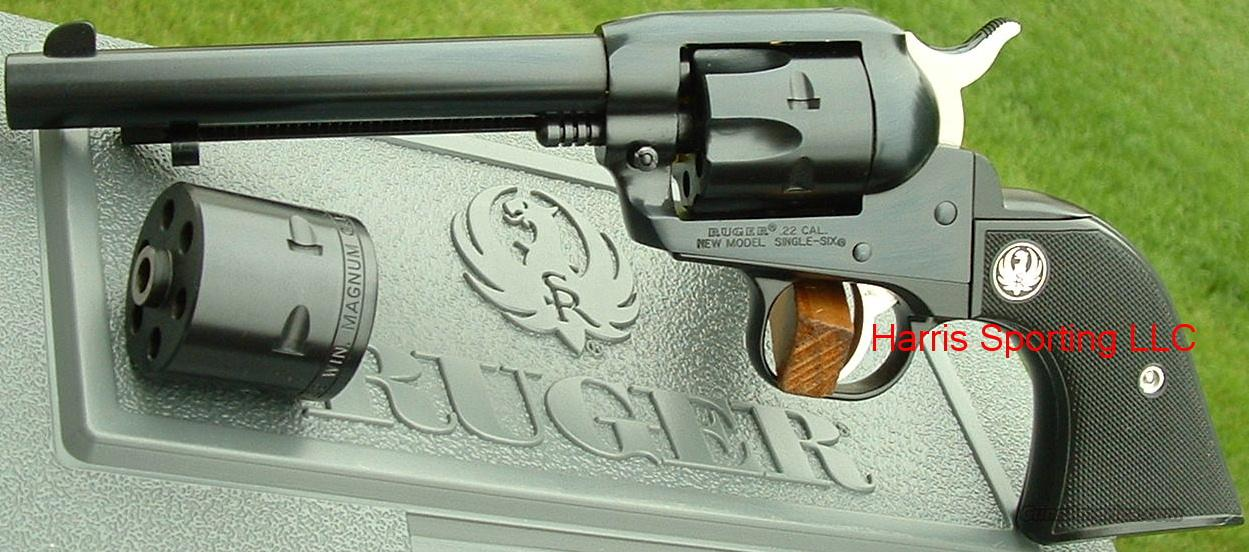 Ruger Single Six Convertible 22 / 22 Magnum  Fixed Sights  NEW!  Guns > Pistols > Ruger Single Action Revolvers