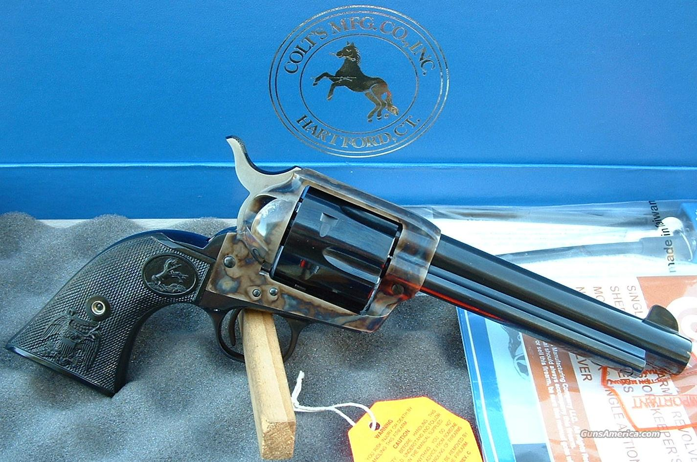 "Colt SAA 357 Magnum 5.5"" Case Color    New!   Guns > Pistols > Colt Single Action Revolvers - 3rd Gen."