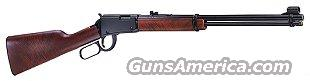 Henry Lever Carbine  22 MAGNUM cal.    New!      LAYAWAY OPTION     H001M  Guns > Rifles > Henry Rifle Company