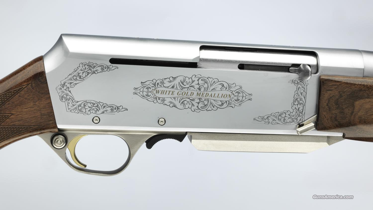 Ltd. Edition Browning BAR White Gold Medallion 30-06 Spfd.  New!    LAYAWAY OPTION     031027226  Guns > Rifles > Browning Rifles > Semi Auto > Hunting