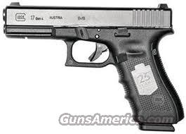 Ltd. Edition Glock 17  25th ANNIVERSARY 9mm  New!    PG1750407    Guns > Pistols > Glock Pistols > 17