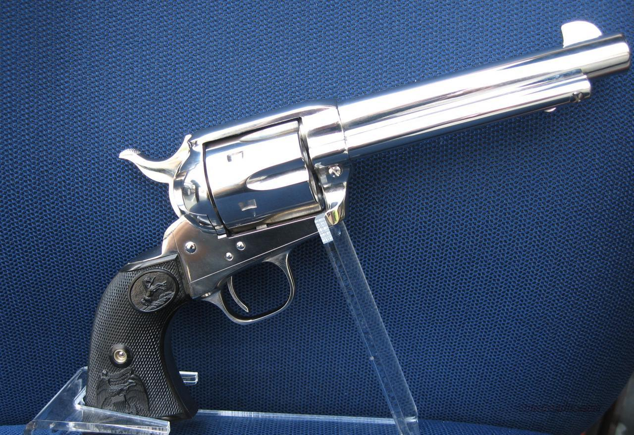Colt Single Action Army NICKEL 45 LC    New!  Guns > Pistols > Colt Single Action Revolvers - 3rd Gen.