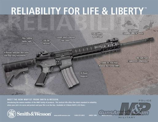 S&W AR15 Smith & Wesson M&P15T TACTICAL 223 Rem.  Guns > Rifles > Smith & Wesson Rifles