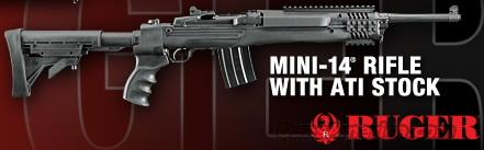 RUGER Mini-14 Tactical M-14/20CF Collapsible Folding 223 Rem. NEW!  Guns > Rifles > Ruger Rifles > Mini-14 Type