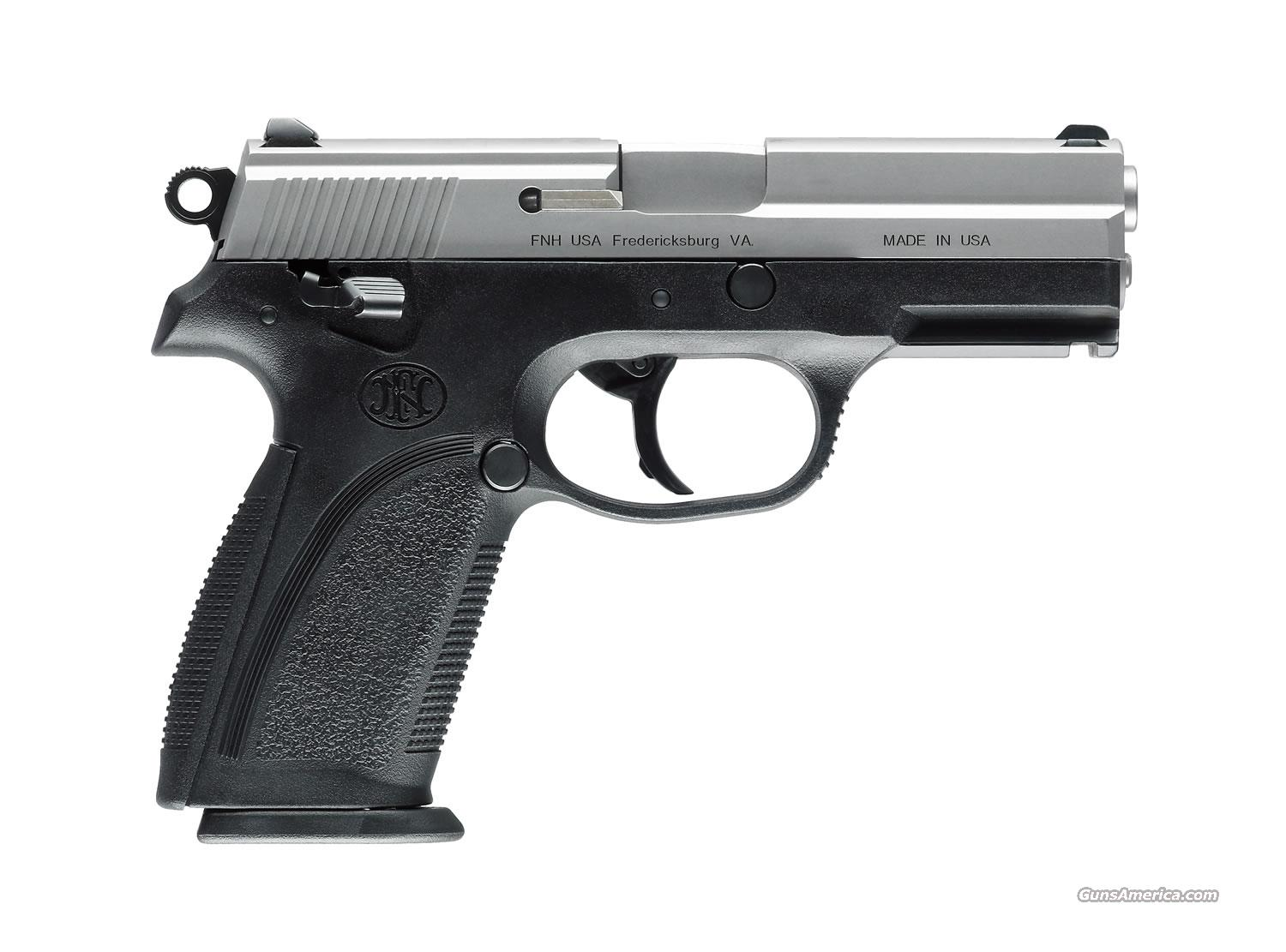 FN FNP-357 Silver Stainless 357 Sig NEW!  Guns > Pistols > FNH - Fabrique Nationale (FN) Pistols > FNP