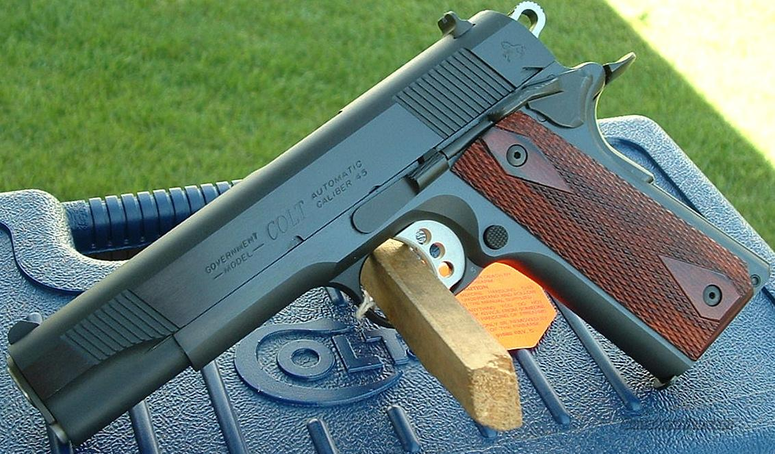 Colt 1911 Government 45 ACP New!   O1980XSE  Guns > Pistols > Colt Automatic Pistols (1911 & Var)
