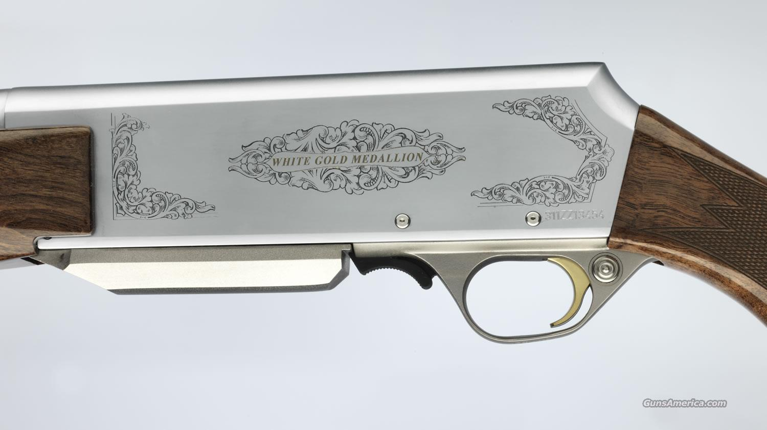 ltd edition browning bar white gold medallion for sale