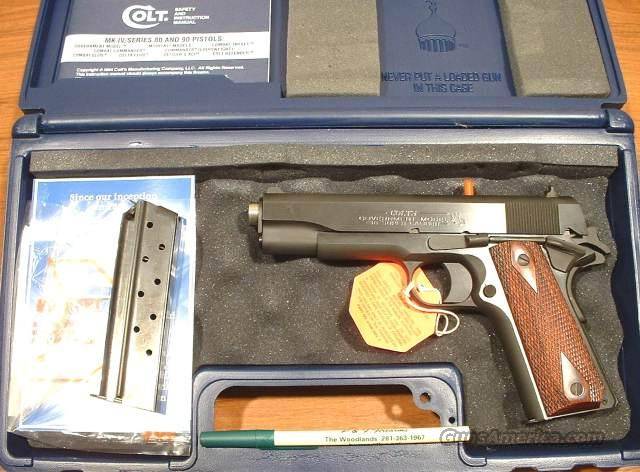 02991 Colt Government 38 SUPER  New!  Guns > Pistols > Colt Automatic Pistols (1911 & Var)