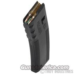 Troy BattleMag - 30 Round High Capacity Black 223 Rem. / 5.56 NATO  AR-15 New!  Non-Guns > Magazines & Clips > Rifle Magazines > AR-15 Type