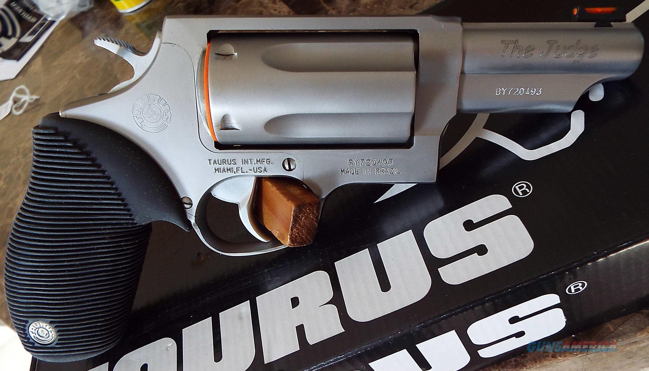 Taurus JUDGE 4410 Stainless 45 LC / 410 ga.      New!       LAYAWAY OPTION     2441039T  Guns > Pistols > Taurus Pistols > Revolvers