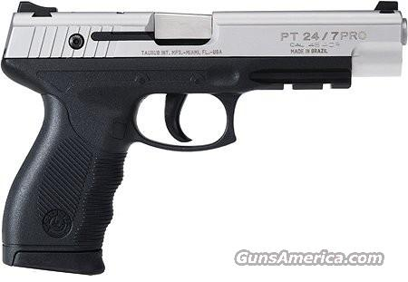 TAURUS 24/7 PRO LONG SLIDE LS Stainless 45 ACP  New!   Guns > Pistols > Taurus Pistols/Revolvers > Pistols > Polymer Frame