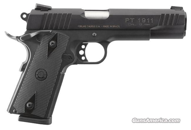 Taurus 1911  9mm    New!    LAYAWAY OPTION    11911019     PT-1911  Guns > Pistols > Taurus Pistols/Revolvers > Pistols > Steel Frame