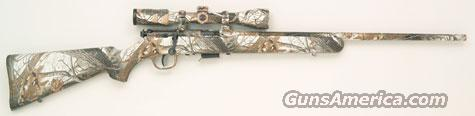 Savage 93R17XP SNOW Camo w/ Scope 17 HMR   NEW!  93R17 XP  Guns > Rifles > Savage Rifles > Accutrigger Models > Sporting