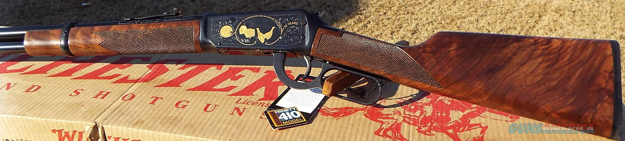 Winchester 9410 NWTF National Wild Turkey Fed. Engraved    410 ga.    New!      LAYAWAY OPTION      514011056  Guns > Shotguns > Winchester Shotguns - Modern > Pump Action > Hunting