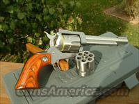 Ruger Blackhawk Convertible Stainless 357 Mag / 9mm NEW!  Guns > Pistols > Ruger Single Action Revolvers > Blackhawk Type