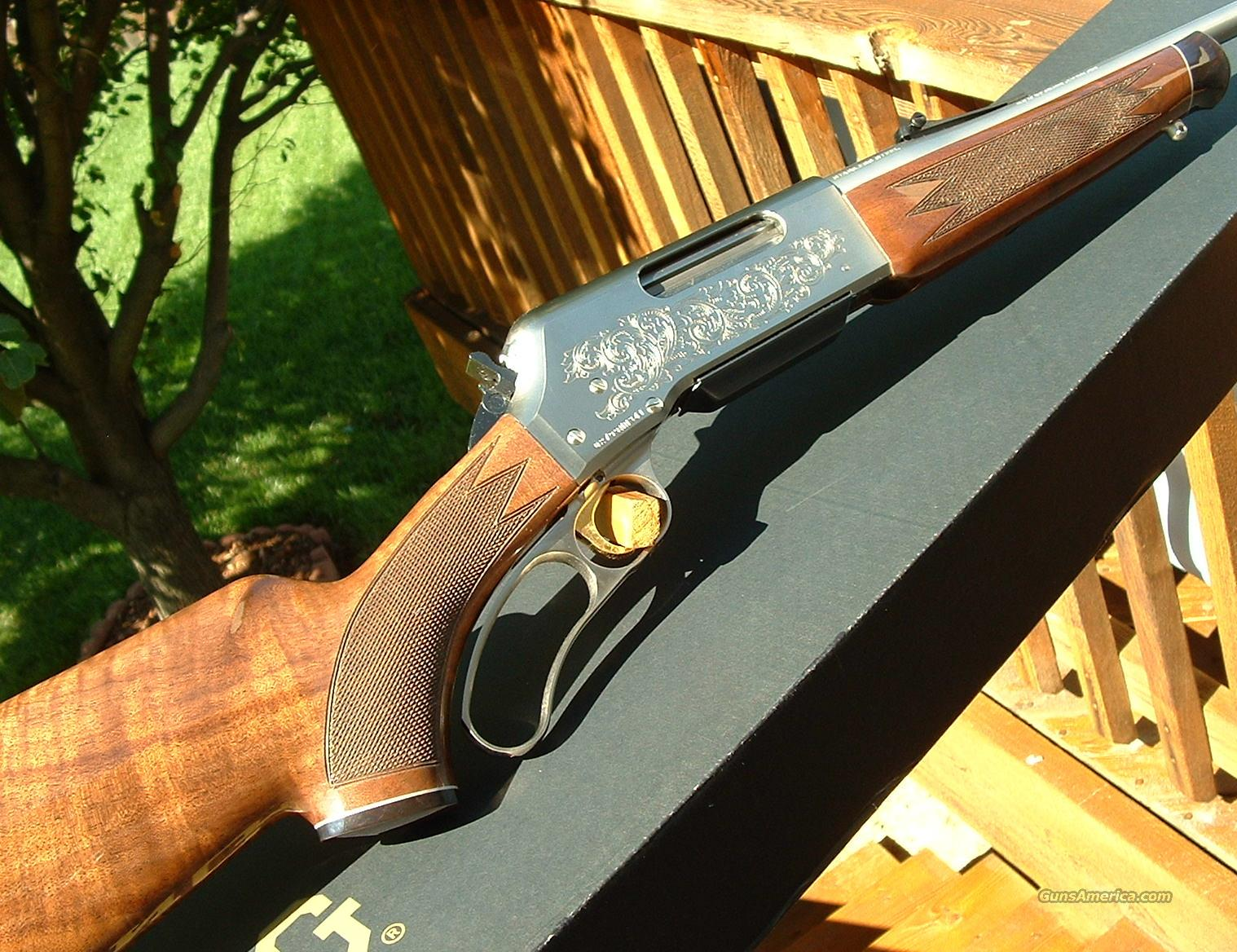 Ltd Edition Browning BLR White Gold Medallion 270 WSM NEW!  Guns > Rifles > Browning Rifles > Lever Action