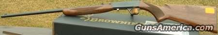 Browning SA 22 LR TakeDown Grade I   NEW!  Guns > Rifles > Browning Rifles