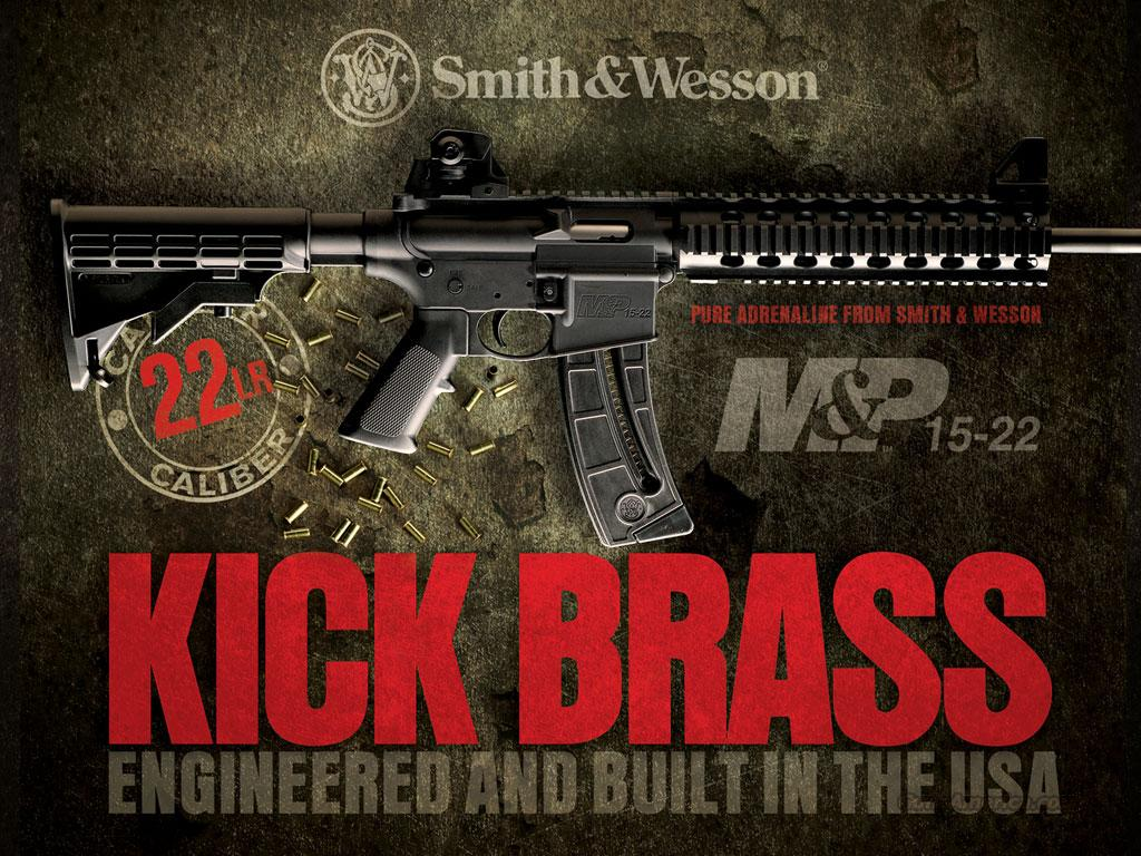 S&W Smith & Wesson M&P15 .22 Rifle w/ Compensator   NEW!   Guns > Rifles > Smith & Wesson Rifles > M&P