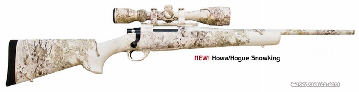 Howa 1500 Hogue SnowKing w/ Scope Heavy Barrel 223 Rem. NEW!  Guns > Rifles > Howa Rifles