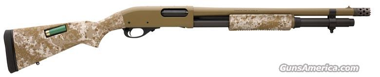 Remington 870 TACTICAL TAC Desert Recon 12 Mag Camo   NEW!   Guns > Shotguns > Remington Shotguns  > Pump > Tactical